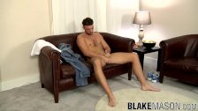 Leo Jenson plays with his fat prick solo - duration 8:12