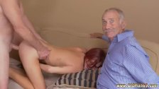 Old man forces young girl to fuck xxx