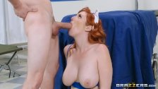 Lauren Phillips is the Navy Nurse! - Brazzers