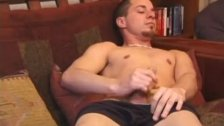 Young and Buff Foster Bailey Strips and Jerks Off