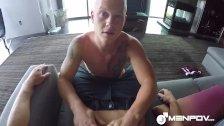 MenPOV Blonde hunk Leo Lucket fucked POV style