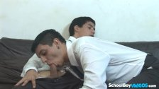Latin gay teen boy gets fucked like a bitch