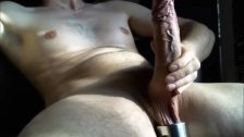 Huge Uncut Cock Shoot a Load