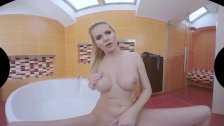 A VR porn video with blonde mature Lilly Peterson.