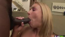 BrokenTeens - Blonde likes to fuck big blacks cocks - duration 13:13