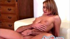 Roxy Rocket Sucks And Rides Dick