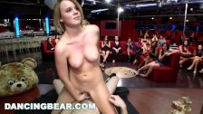 DANCING BEAR – CFNM Whores Sucking Male Stripper Dick At The Club (db11453)-arab new xxx