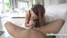 EU Red Head enjoys being fucked in the ass - Lyen Parker