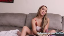 Nurse Kimber Lee Helps Patient With Latex Glove Handjob!