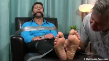 Blayne feet worshiped by older man