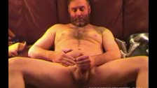Homemade Video of Mature Amateur Bill Jacking Off
