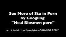 Porn Slut Neal Blosmen Takes Cum Facial, and Watches Himself in Porn on TV