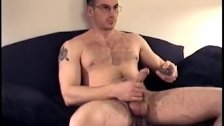 Muscular and Hairy Straight Boy Jacks Off