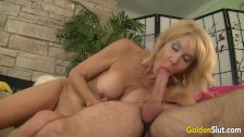 Mature woman Erica Lauren loving fat cock - duration 8:18