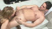 Dazzling angel requires a very brutal drilling