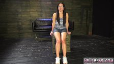 Public store blowjob Helpless teen Evelyn