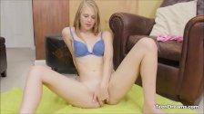 Cute Teen Lily Rader Pussy Masturbation