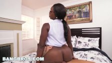 BANGBROS - Big Tits Ebony Bank Teller Vickie Starxxx Gets Fucked