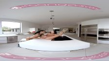 VRBANGERS - Two Lesbian Roommates Finally Make Out