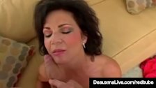 Dirty Mommy Deauxma Opens Her Anus For Her BoyToy & Squirts!