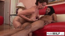 Jackie Jevaux receives black dick