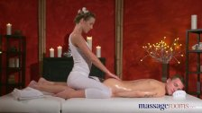 Massage Rooms Young workman is seduced by cock hungry Alexis Crystal