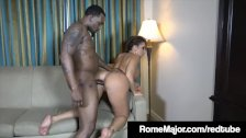 Hot White Chick Richelle Ryan Gets Plowed by BBC Rome Major!