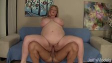 Big tittied BBW Kali Kala Lina takes cock