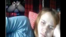 Reacciones de nenas al ver mi polla en la web cam. 27