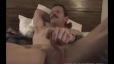 Mature Amateur James Beating Off