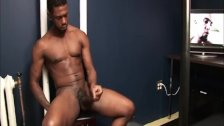 Huge Black Shoot a Massive Load