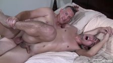 Twink Rentboy Bareback Party With Daddy - duration 5:46