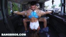 BANGBROS Big Booty Latina Kelsi Monroe's Reverse Bang Bus Part 3