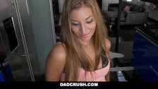 DadCrush - Hot Stepdaughters Seduce and Fuck Stepdad