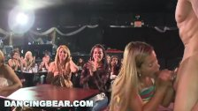 DANCING BEAR - Real Women, Real Horny, Sucking Big Dicks in a CFNM Party - duration 12:00