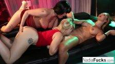 Hot Pornstar Threesome With Nadia White