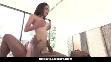 SheWillCheat Tia Cyrus Ride Black Cock While Husband Is At Work