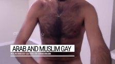 Furry & furious dominator. Nabih's chest, a flying carpet for arab gay lust
