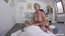 busty granny gets pov fucked by her doctor - duration 6:29