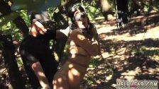 Girl bondage escape and ebony punished by
