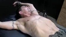 Gay dude Derick begs Franco to stop tickling hes bare feet