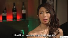 JAV wife slave auction for Ayumi Shinoda CMNF ENF