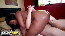 BANGBROS - Curvy Black Girl Monique Symone Gets Fucked Hard and Good