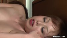 Cute Asian idol drools on a boner before being fucked