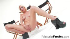 Victoria White plays with her pussy