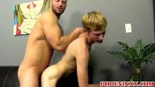 David Chase prepares Hunters ass for a cock with his tongue