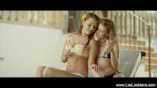 Gorgeous Kissing Lesbian Lust