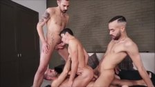 Hot Orgy Blowjob And Bareback