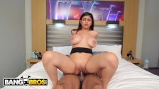 BANGBROS Mia Khalifa Is Ready For Asante Stone's Big Black Dick!