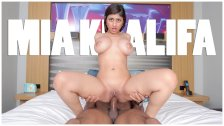 BANGBROS - Mia Khalifa Is Ready For Asante Stone's Big Black Dick!